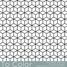 Geometric Coloring Page 80 | coloring board - perfect | Pinterest