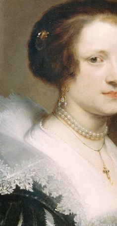 Anthony van Dyck - Portrait of Anna Wake (1605-before 1669)