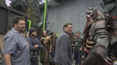 The battle of the Five Armies behind the scenes