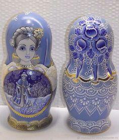 Matryoshka doll.
