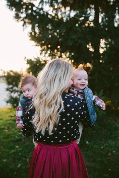 Glitter: My cute little boys Davi and Rawnie their dad is a d-bag *laughs*