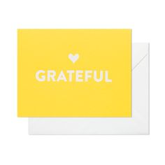 Grateful thank you notes #sugarpaper