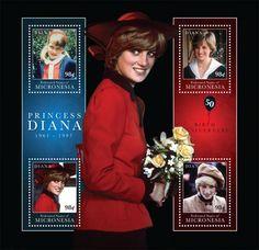 Micronesia Stamps - Princess Diana...