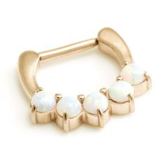 Brand new today @ http://sick-plugs.co.uk/products/rose-gold-pvd-steel-5-opal-septum-clicker?utm_campaign=social_autopilot&utm_source=pin&utm_medium=pin RT if you love it! #sickplugs
