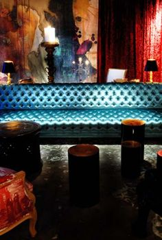 ♂ Contemporary commercial space interior design restaurant - Lan Restaurant, Beijing by Philippe Starck