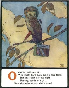 O - Lyrics Pathetic and Humorous from A to Z, by Edmund Dulac, 1908