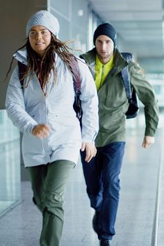 On the way to new adventures with the Inspired by Eiger collection. Urban Chic, New Adventures, Rain Jacket, Windbreaker, Inspired, Lifestyle, Jackets, Outdoor, Inspiration