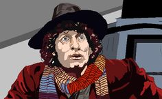 4th Doctor - graphics tablet