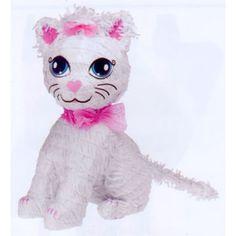 PINATA-PRETTY KITTY CAT PARTY SUPPLIES looks like my cat lololol