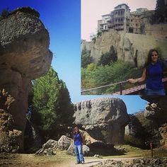 """Cuenca again, """" ciudad encantada"""" ( filming location of Conan the Barbarian) and the National Museum of Abstract Art ( """"Casas Colgadas"""" XV Century) #instagood #trip #holiday #photooftheday #fun #travelling #tourism #tourist #igtravel #instago #rocks #environment #cuenca #heritage #museum #museos #Spain #ciudadencantada #casascolgadas #sendero #patrimonio #excursiones  #trail  #visiting"""