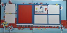 CTMH Fanfare layout by Big Red Scraps