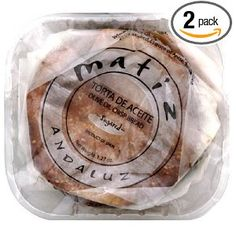 Matiz Andaluz Torta de Aceite, Sugared, 6-Count (Pack of 2)