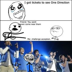 one direction!! i wish i could do that...