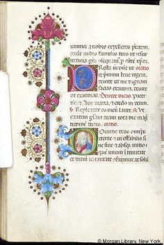Book of Hours, MS M.454 fol. 146v - Images from Medieval and Renaissance Manuscripts - The Morgan Library & Museum