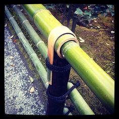 Bamboo railings