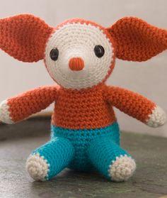 Elmer By Debbie Stoller - Free Crochet Pattern - (redheart)