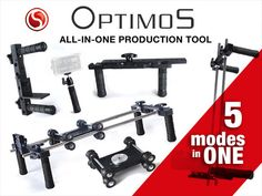 OPTIMOS All-in-One production film tool for DSLR cameras by Sergio Angon, via Kickstarter.