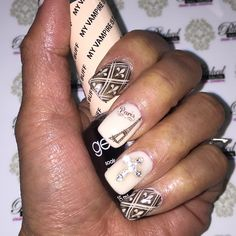 """#NailsOfTheDay #JeSuisCharlie #prayforParis @opi_products #MyVampireIsBuff with stamp #nailart #naildesign #fleursdelis #EiffelTower #cross #nails #nailswag #okcnails #nailsokc #yukonsbest #okc #getPolished #PolishedNailsOK #notd #instaNails"" Photo taken by @polishednailsok on Instagram, pinned via the InstaPin iOS App! http://www.instapinapp.com (01/22/2015)"