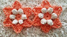 Crocheted flower 41