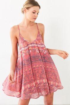 Kimchi Blue Lace-Up Side Mini Dress