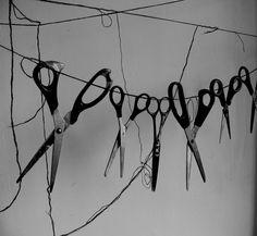a little bit different pennant string - Restoration Hardware Halloween