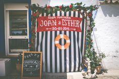 Joan y Esther, boda alicantina en alta mar