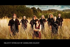 """Silent Stream of Godless Elegy.  From the Czech Republic, these 'folk' metallers put out some incredible, unique music, even winning a Czech Grammy Award.  A great introduction to their music is their third official release, """"Themes""""."""