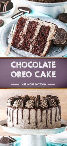 Banana cake with banana - HQ Recipes Chocolate Oreo Cake, Chocolate Drip, Semi Sweet Chocolate Chips, Best Dessert Recipes, Fun Desserts, Delicious Desserts, Snack Recipes, Dessert Ideas, Cake Recipes