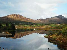 Beauty of Ireland | Sneem, Ireland, as seen from the Sneem Hotel