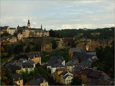 View in Luxembourg City