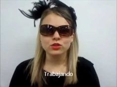 Cute video for Present Progressive (Trabajando- to the song Alejandro by Lady Gaga)