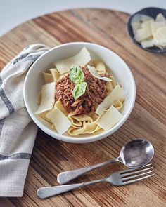 Slow cooked Beef Ragu for a cold rainy night... #yum