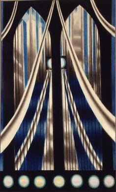 the bridge - Joseph Stella