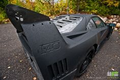 black matt ferrari f40.
