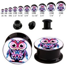 Find More Body Jewelry Information about Wholesale 20pcs Body Piercing Jewelry Acrylic Super Cute Owl Logo Ear Gauges Earring Plugs Flesh Tunnels Expanders Screw 6m 25mm,High Quality jewelry cat,China screw in light fitting Suppliers, Cheap jewelry brand names list from DreamFire Store on Aliexpress.com