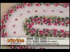 Vitrine do artesanato Tapete gerbera Maria Jose - YouTube