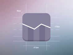 iOS7 Stocks Icon by Graphicure