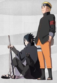Não falem pra ninguém, mas o sasuke é mais bonito do que o protagonista principal da série.