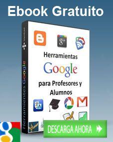 Ebook gratuito: google 2.0, #Web 2.0, #Educación, #Recursos TIC