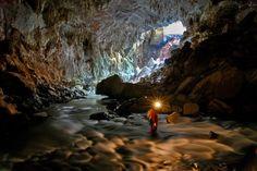 Caverna no Parque Estadual de Terra Ronca - Foto: Marcelo Ísola