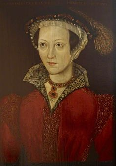 Catherine Parr, copy of her 1545 portrait that hangs in the NPG