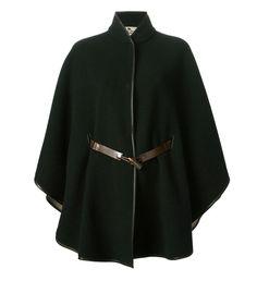 cape laine vert sapin etro pour hiver                                                                                                                                                                                 Plus