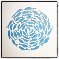 "27 Likes, 4 Comments - Bird in Boots (@birdinboots1) on Instagram: ""Paper fish #papercutting #paper #papercut #ball #baitballs #fish #fishing #nature #circle #wallart…"""