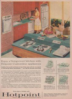 Hotpoint Customline appliances, 1956 Sunset.4.56 6 | Flickr - TikiTacky