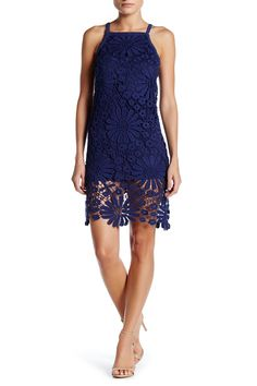 Floral Crocheted Dress