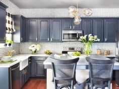 How to Refinish Cabinets Like a Pro : Kitchen Remodeling : HGTV Remodels
