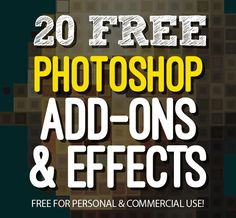 20 Free Photoshop Add-ons and Effects Bundle