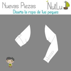 ¡Nuevas piezas! Ya tenemos disponibles para ti las mangas remangadas para niño. ¡Haz tu diseño ahora! :-) > http://configurador.nutlu.com/ #RopaBebe #RegaloOriginal #VestidosNina #ModaInfantil #Diseno #mangas #ninos