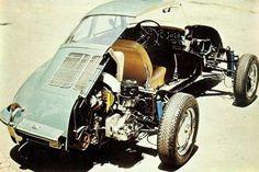 Porsche 356SC cutaway