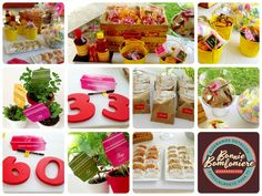 Barra de dulces típicos - Birthday Party -